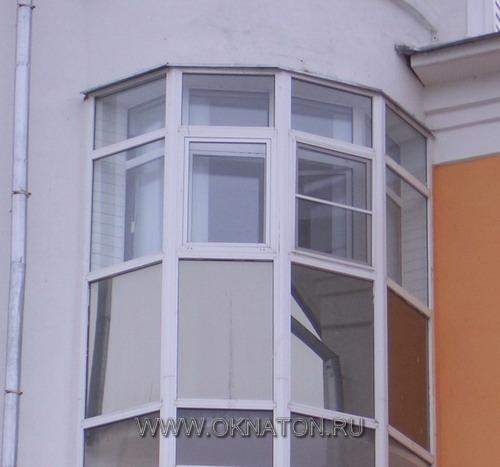 Тонирование лоджий, балконов